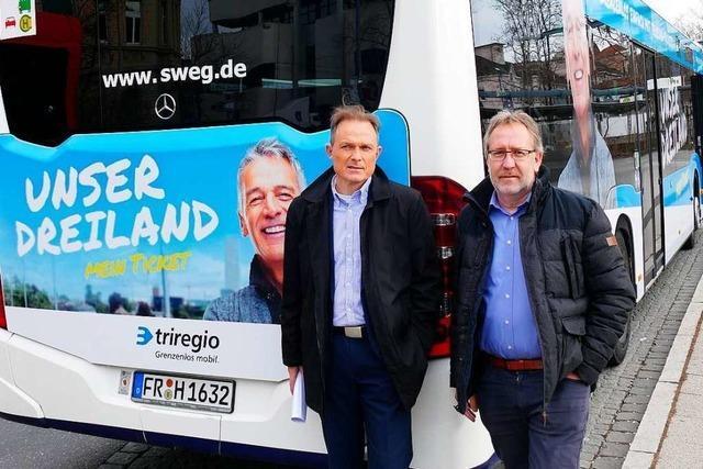 Grenzüberschreitende Tickets werden im Dreiland gut angenommen
