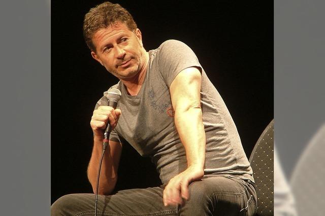 Rolf Miller gibt Vorstellung im Gloria-Theater Bad Säckingen