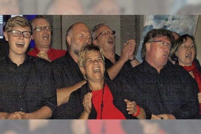 New Gospel Singers wagen wieder etwas Neues