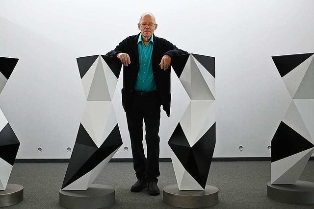 Reduktion auf Elementarformen: Die Ausstellung