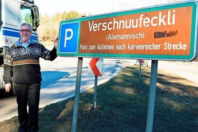 Diesem Mann verdanken die Parkplätze an der B 31 ihre alemannischen Namen
