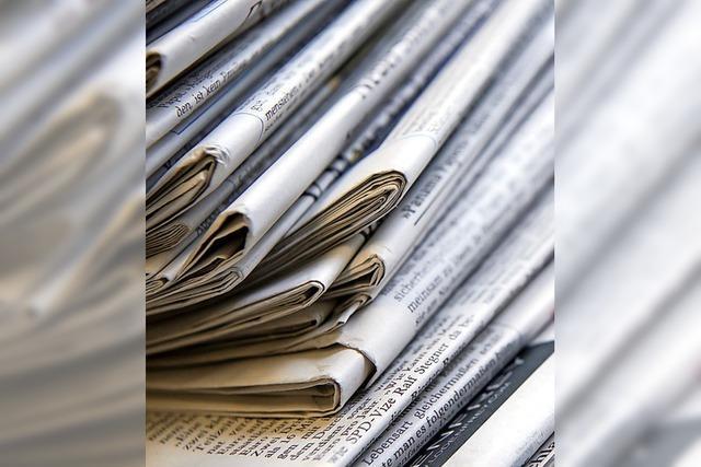 Vertrauen in regionale Zeitungen