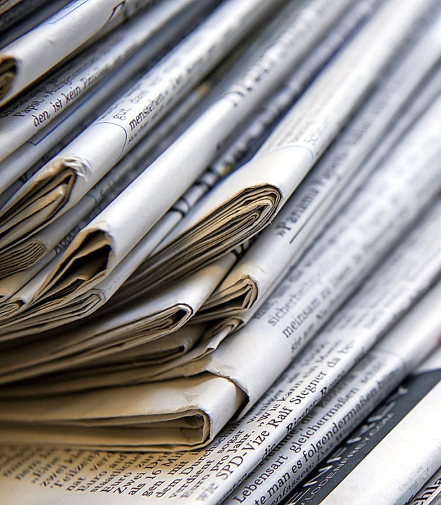 Vertrauenswürdig: Zeitungen  | Foto: dpa