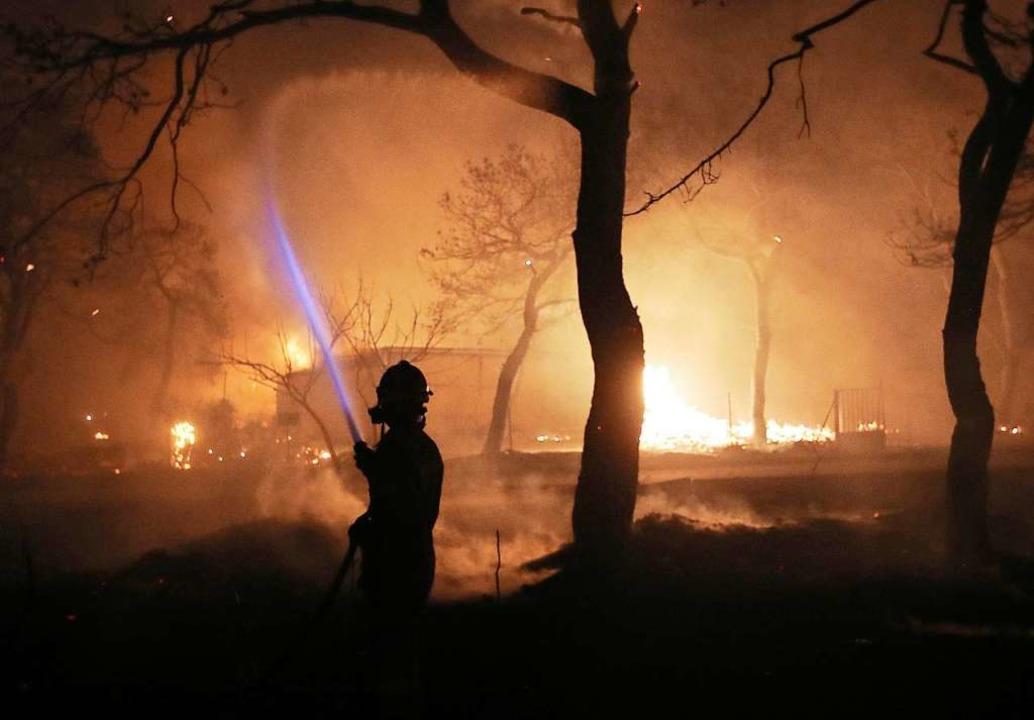 Feuer Athen