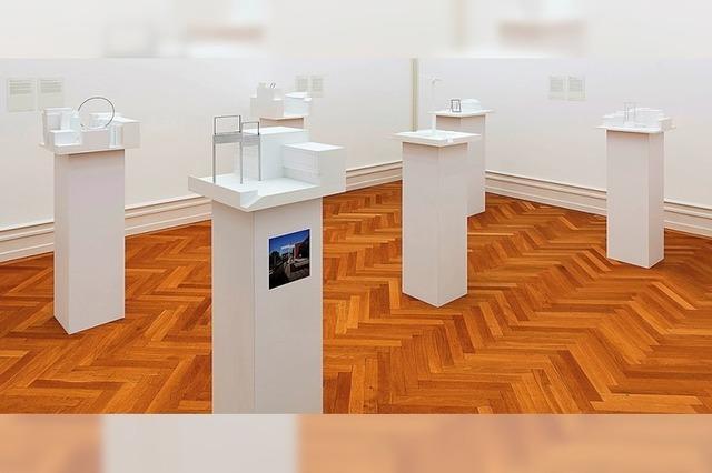 Die Kunsthalle Bern mit Querschnitt aus dem umfangreichen Werk von Isa Genzken