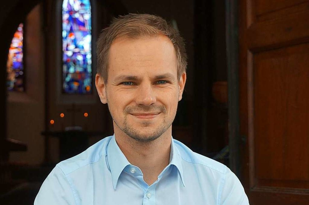 Keno Heyenga ist Pfarrer der evangelischen Kirchengemeinde Weisweil.    Foto: Ilona Huege