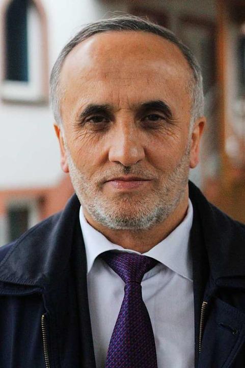 Eyüp Aslanbay ist Imam des Türkisch-Islamischen Kulturvereins Emmendingen.    Foto: Joshua Kocher