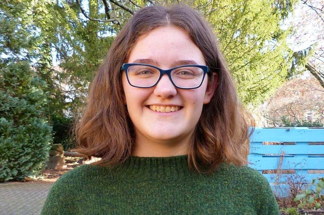 Jana Schwab, 17, lebt in Willstätt und...1. Klasse der Klosterschule Offenburg.  | Foto: Privat