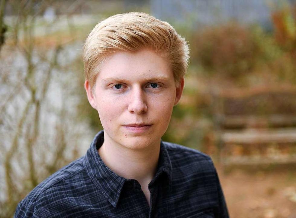 Jesko Treiber, 19,  lebt in Freiburg und besucht die Waldorfschule St. Georgen.  | Foto: Rita Eggstein