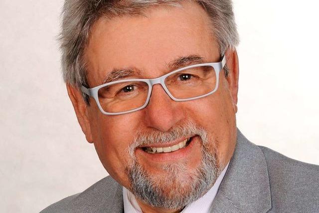 Altbürgermeister Bernhard Winterhalter schreibt ein Buch über Kanderns Geschichte