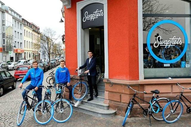 Fahrradvermietung Swapfiets eröffnet neue Filiale in Freiburg