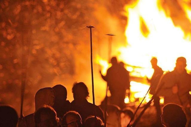 Die Tradition der Scheibenfeuer ist fast 1000 Jahre alt
