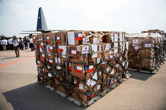 Hilfsgüter aus Endingen kommen nicht in Venezuela an