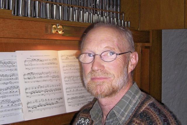 Orgelvesper mit Jürgen Mauri in Emmendingen