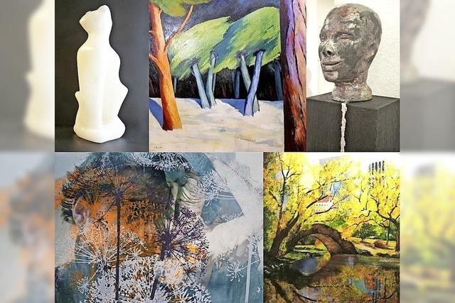 Vier Künstler und Künstlerinnen aus drei Ländern zeigen ihre Kunst in Buggingen