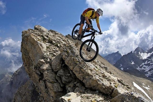 Bike-Bergsteiger Harald Philipp berichtet in der Stadthalle Tiengen über seine Expeditionen