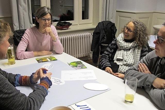 Grüne arbeiten mit den Kandidaten am Programm