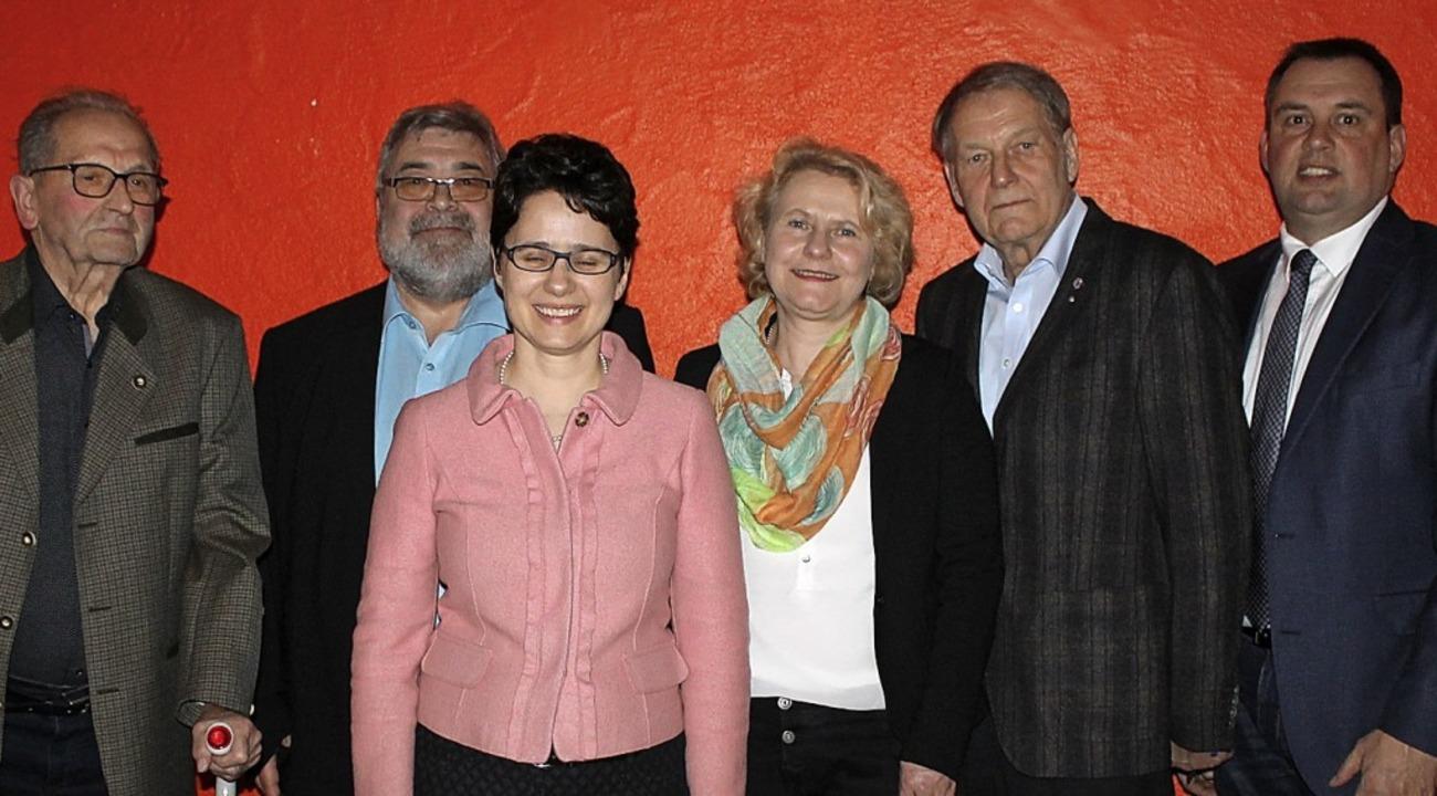 CDU Mahlberg-Orschweier: (von links) H... Beate Leitz, Ulrich Hehr, Bernd Dosch  | Foto: CDU Mahlberg-Orschweier