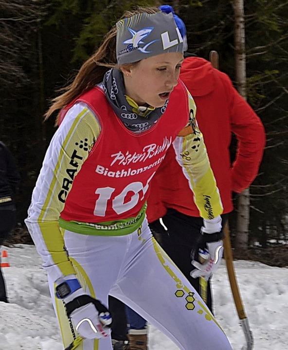 Miriam Asal vom SC Todtnau war Dritte der  J14/15.   | Foto: junkel