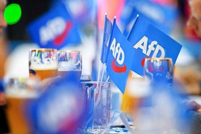 AfD droht wegen Spendenaffäre Strafe von mehr als 100.000 Euro