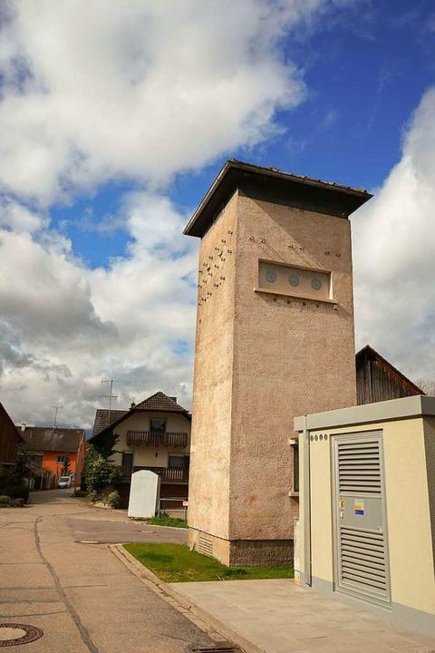 Das alte Stromhäuschen in Ettenheimweiler  | Foto: Sandra Decoux-Kone