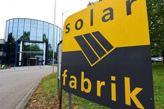 Die Gläubiger der Freiburger Solar-Fabrik müssen sich gedulden