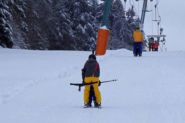 In Herrischried sind immer noch gute Wintersportbedingungen