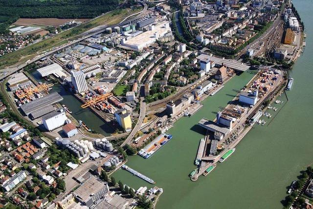 Die Basler Hafenerweiterung ist ein Zukunftsprojekt mit Zumutungen