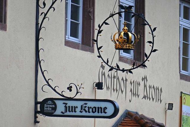 Die Zukunft des Gasthaus Krone in Kenzingen soll offenbar geklärt sein