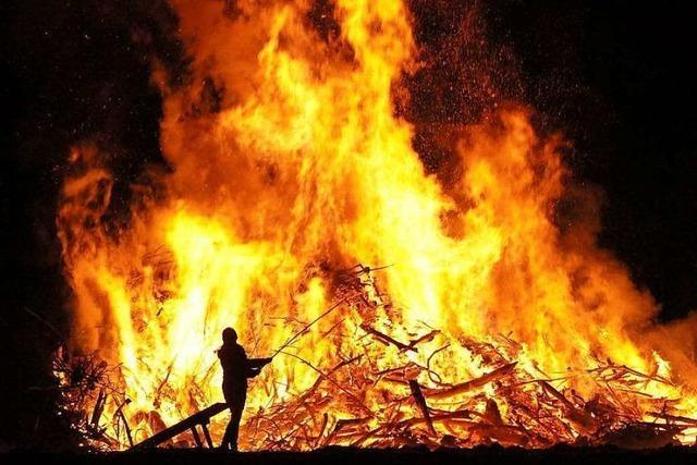 Hier lodern am Wochenende die Fasnachtsfeuer