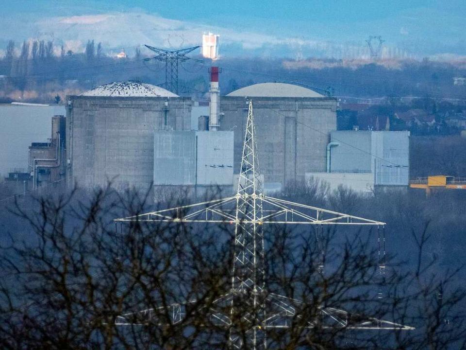 Das Atomkraftwerk Fessenheim  | Foto: Matthias Weniger
