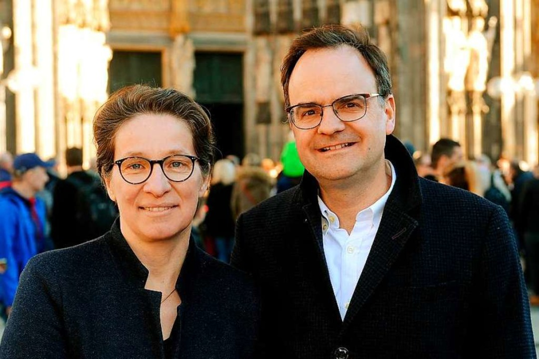 Das Ehepaar Ladenburger erhält den  Bürgerpreis der Deutschen Zeitungen.  | Foto: Peter Rakoczy