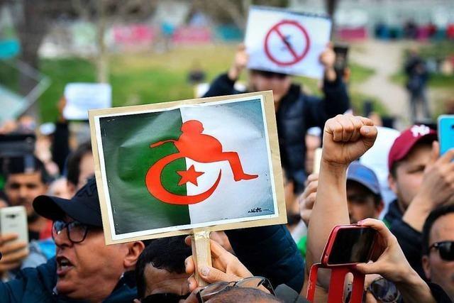 Proteste in Algerien reißen nicht ab