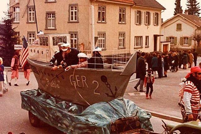 Fotos: Historische Aufnahmen vom Weiler Buurefasnachtsumzug