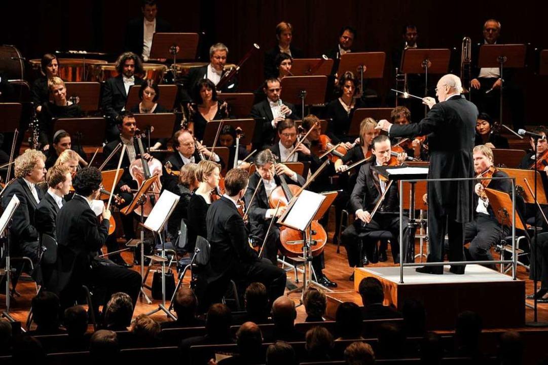 2009: Neujahrsempfang der Landesregier...nfonie-Orchester Baden-Baden Freiburg.  | Foto: Thomas Kunz