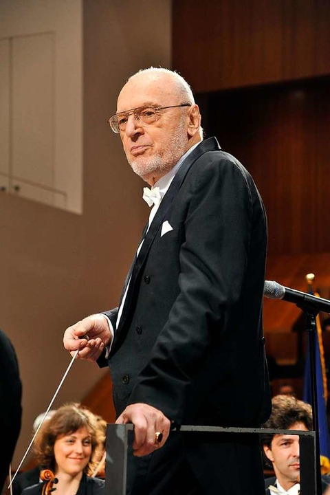 Hält viel auf Orchesterdisziplin: Mich...sters Baden-Baden und Freiburg (2009).  | Foto: Thomas Kunz
