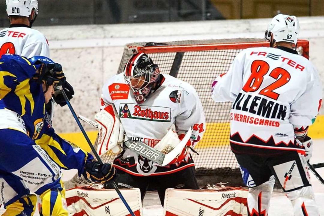 Beim ersten Finalspiel in Ursellen kas...e Niederlage mit drei Toren Differenz.  | Foto: heinz Frommherz