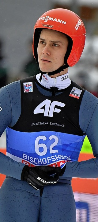 Skispringer Stehan Leyhe (Archivbild) stürzte in Oslo.   | Foto: dpa