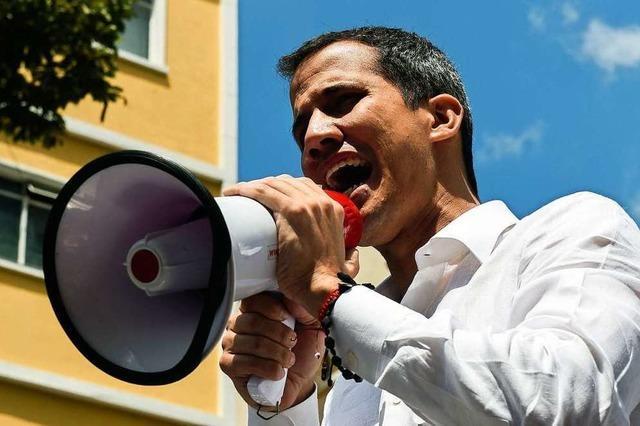 Oppositionsführer Guaidó ruft zu Marsch auf Caracas auf