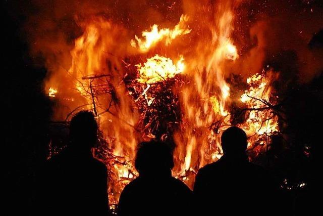 Die Fasnachtsfeuer auf dem Tüllinger und in Inzlingen sind abgesagt