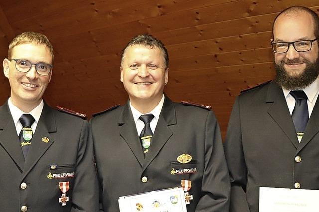 Hohe Auszeichnungen bei der Feuerwehr