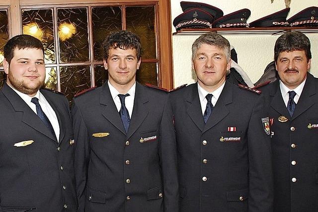 Neue Führung bei der Feuerwehr
