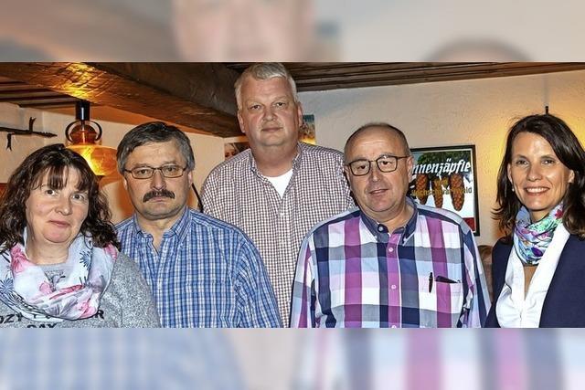 Fünf Kandidaten auf der SPD-Liste