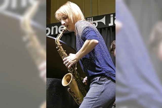 Eine Jazz-Musikerin, die in keine Schublade passt