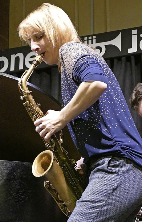 Alexandra Lehmler im Jazztone    Foto: Martina David-Wenk