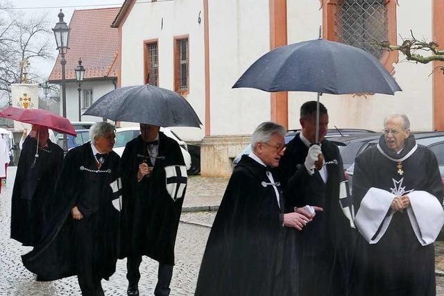 Sturm und Dauerregen – Fridolinsfest ohne Prozession