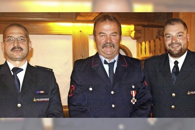 40 Jahre für die Feuerwehr engagiert