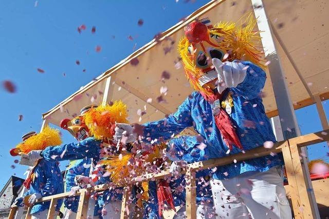 Der Waggis ist die trinationale Fasnachtsfigur im Dreiland