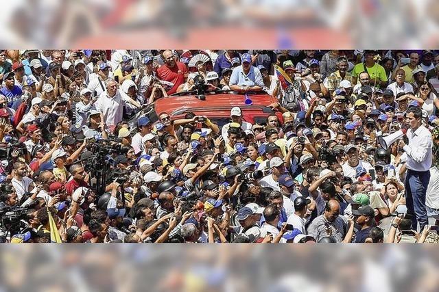 Venezuela unter Höchstspannung, aber ohne Strom