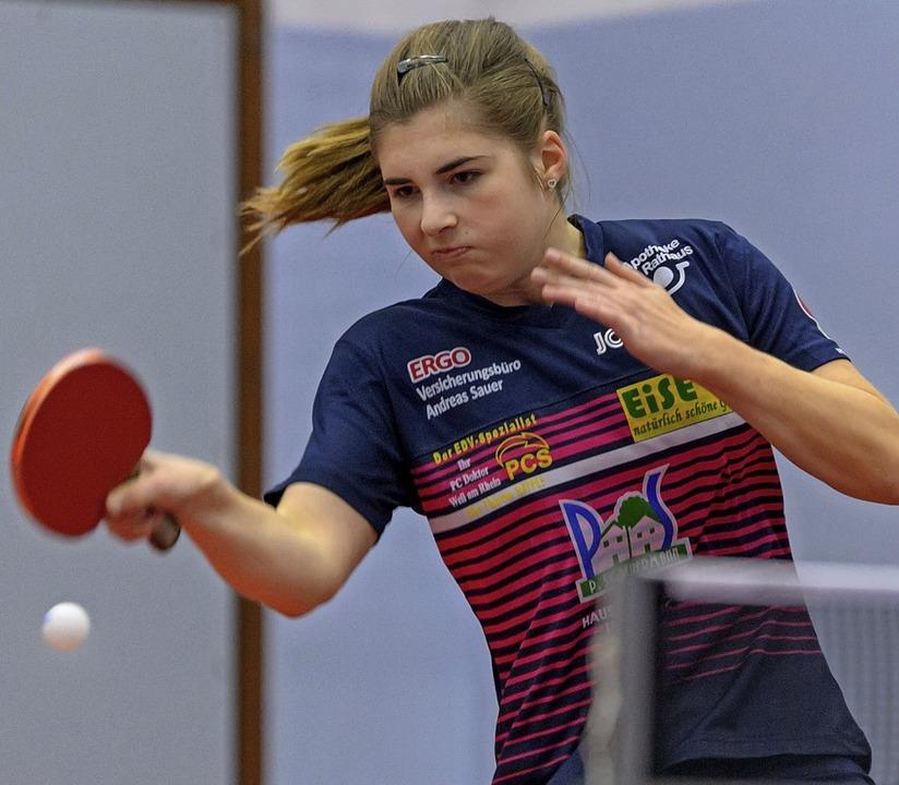 Erfolgreiches Comeback: Vivien Scholz ...Einzelsieg den Weiler Triumph perfekt.  | Foto: Gründl